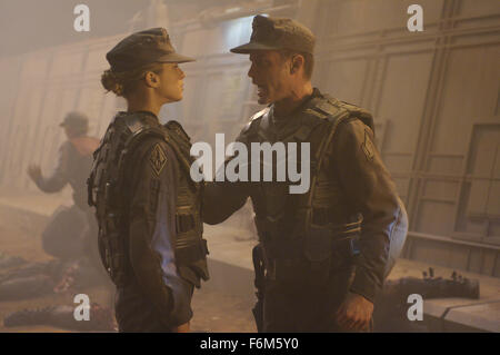 RELEASE DATE: August 5, 2008. MOVIE TITLE: Starship Troopers 3: Marauder. STUDIO: Sony. PLOT: The war against the - Stock Photo
