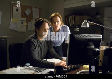 RELEASE DATE: July 25, 2008. MOVIE TITLE: The X-Files: I Want to Believe. STUDIO: 20th Century Fox. PLOT: Mulder - Stock Photo