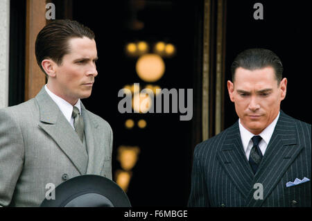 RELEASE DATE: July 1, 2009. MOVIE TITLE: Public Enemies. STUDIO: Universal Pictures. PLOT: The Feds try to take - Stock Photo
