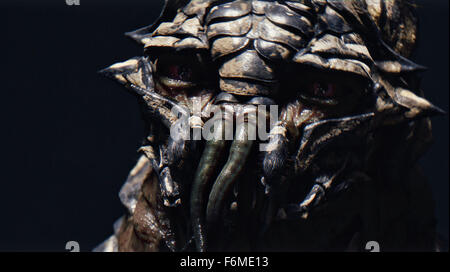 RELEASE DATE: August 19, 2009. MOVIE TITLE: District 9. STUDIO: TriStar Pictures. PLOT: An extraterrestrial race - Stock Photo