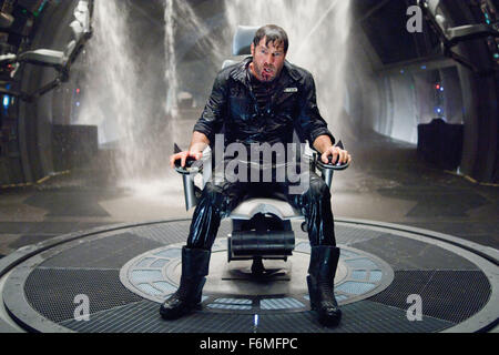 RELEASE DATE: September 25, 2009. MOVIE TITLE: Pandorum. STUDIO: Impact Pictures. PLOT: A pair of crew members aboard - Stock Photo