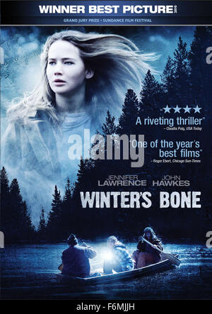 RELEASE DATE: March 3, 2010. MOVIE TITLE: Winter's Bone. STUDIO: Anonymous Content. PLOT: An unflinching Ozark Mountain - Stock Photo