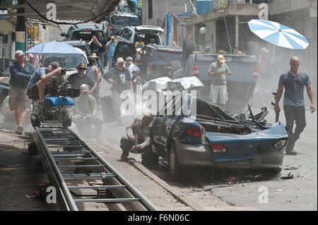 RELEASE DATE: April 29, 2011  MOVIE TITLE: Fast Five aka Fast & Furious 5 - Thailand  STUDIO: Universal Pictures - Stock Photo