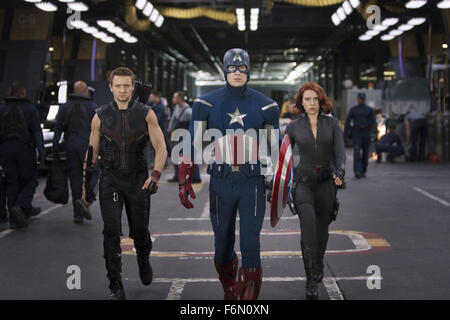 RELEASE DATE: May 4, 2012   MOVIE TITLE: The Avengers   STUDIO: Paramount Pictures   DIRECTOR: Joss Whedon  PLOT: - Stock Photo