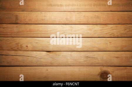 brown textured wood planks, use as background - Stock Photo