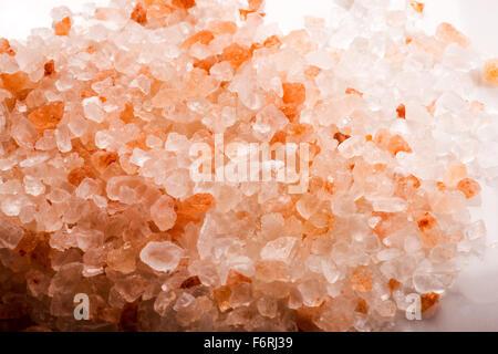 Pink Himalayan Salt, Himalaya, foodie, gourmet salt, food, ingredient, spice, salt, expensive, valuable, background - Stock Photo