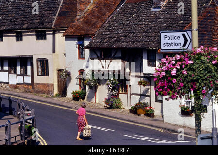 Steyning. West Sussex. England. UK. Europe - Stock Photo