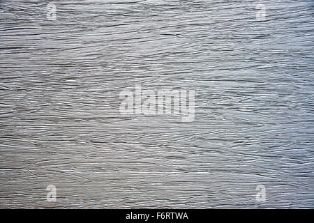 A textured silver background wall - Stock Photo