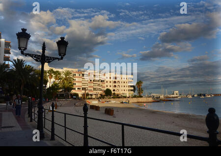 Santa Eularia des Riu, Ibiza Spain - Stock Photo