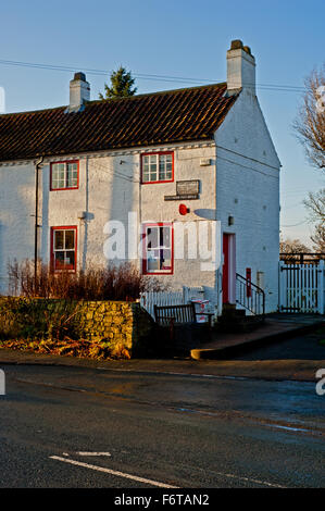 The Old Post Office, Crathorne North Yorkshire - Stock Photo