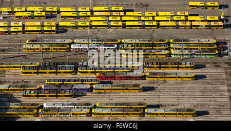 Buses and trams in essen transport company depot evag for Depot essen