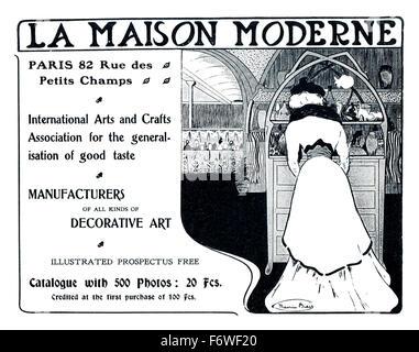 La Maison Moderne Stock Photo: 169420616 - Alamy