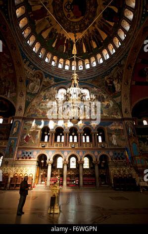 Sibiu, Transylvania, the Orthodox Cathedral, Romania - Stock Photo
