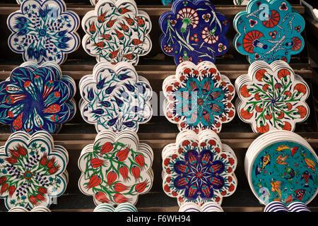 Charming 1200 X 600 Ceiling Tiles Tiny 3X6 Subway Tile Backsplash Square 4 Ceramic Tile 4X12 Subway Tile Youthful 4X4 Ceramic Floor Tile GreenAnn Sacks Tile Backsplash Turkey, Istanbul. Colorful Hand Painted Souvenir Pottery Stock ..