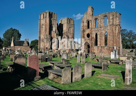 Elgin Cathedral, Elgin, Moray, Scotland, Great Britain - Stock Photo