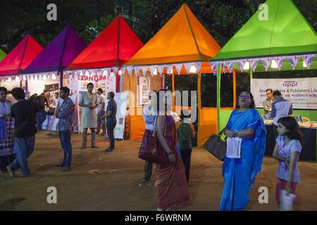 Dhaka, Bangladesh. 20th Nov, 2015. DHAKA, BANGLADESH 20th November: Dhaka Literary Festival or Dhaka Lit Festival - Stock Photo