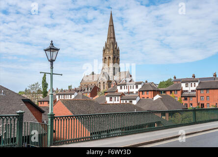 St Michael and All Angels Church on Mount Dinham, Exeter, Devon, UK - Stock Photo