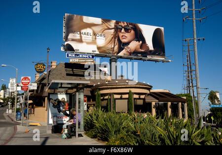 the Sunset Strip - Stock Photo