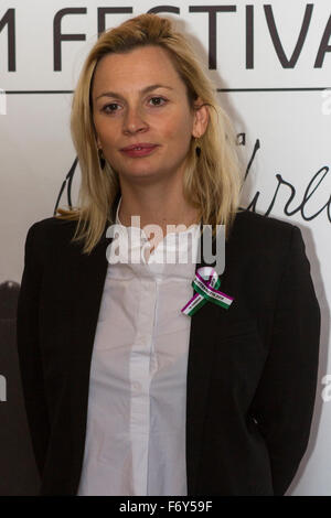 Turin, Italy. 21st Nov, 2015. Producer Faye Ward presents the movie 'Suffragette' at Torino Film Festival. Credit: - Stock Photo