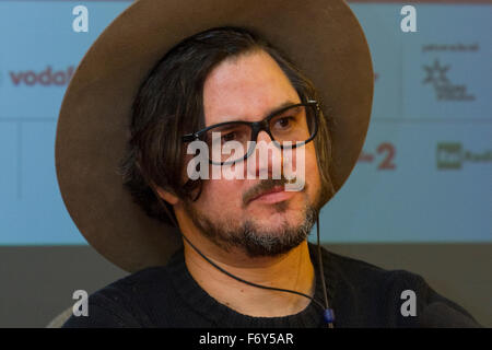 Turin, Italy. 21st Nov, 2015. Filmmaker Corin Hardy during a press conference at Torino Film Festival. Credit:  - Stock Photo