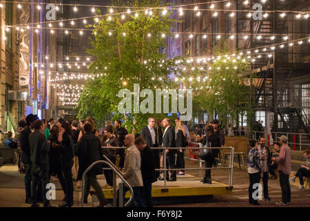 Industry city event Sunset park Brooklyn NYC - Stock Photo