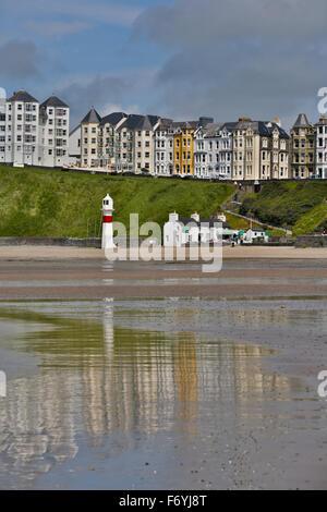 Port Erin; Beach; Isle of Man; UK - Stock Photo