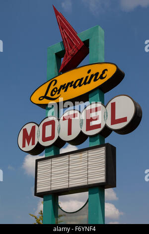 The National Civil Rights Museum at the Lorraine Motel in Memphis, Tennessee, where Martin Luther King Jr. was assassinated