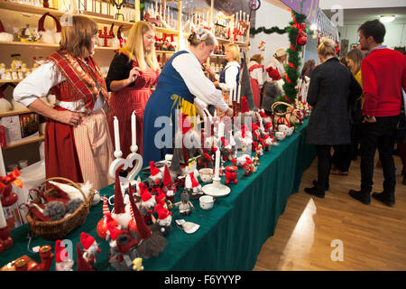 ornaments london uk 22nd november 2015 crowds attend this years swedish christmas market at