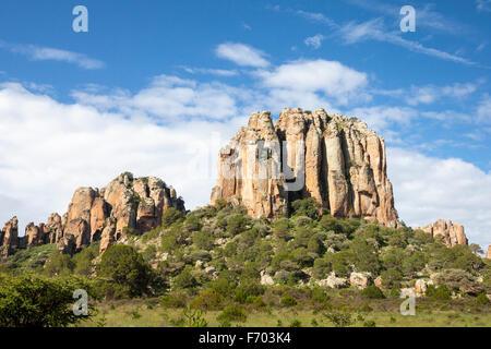Sierra de Organos in Zacatecas, Mexico. - Stock Photo