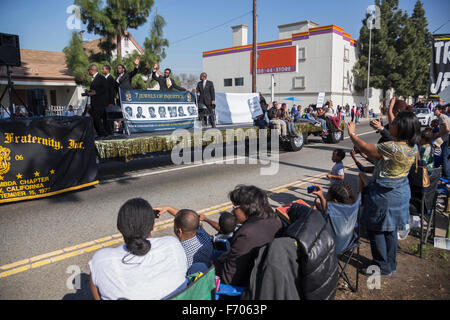 Los Angeles, California, USA, January 19, 2015, 30th annual Martin Luther King Jr. Kingdom Day Parade - Stock Photo