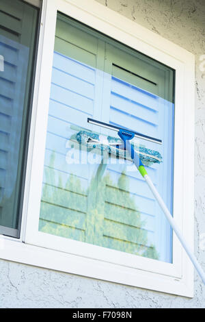 Window Cleaning Sponge Squeegee Stock Photo Royalty Free