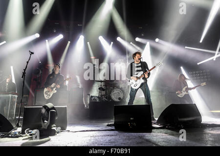 London, UK, 22 Nov 2015. The Vaccines Live Performance at o2 Brixton Academy. Credit:  Robert Stainforth/Alamy Live - Stock Photo