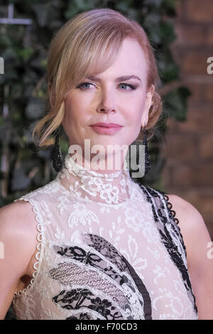 London, UK. 22nd Nov, 2015. Nicole Kidman attends the London Evening Standard Theatre Awards  on 22/11/2015 at The - Stock Photo