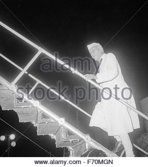 First former prime minister, pandit jawaharlal nehru, india, asia - Stock Photo