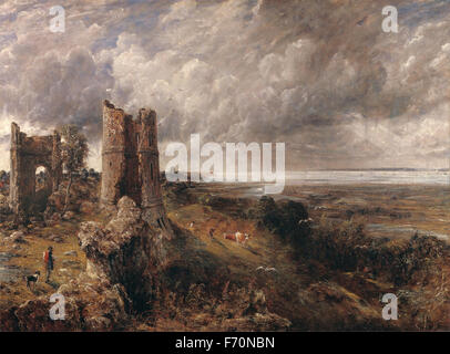 John Constable - Hadleigh Castle, The Mouth of the Thames Morning after a Stormy Night - Stock Photo