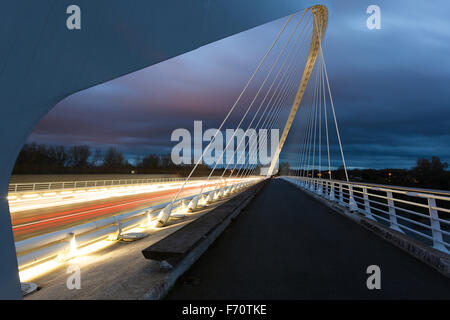 Bridge of Europe, Orleans, Loiret (45) France - Stock Photo
