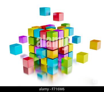 Business teamwork internet communication concept - Stock Photo