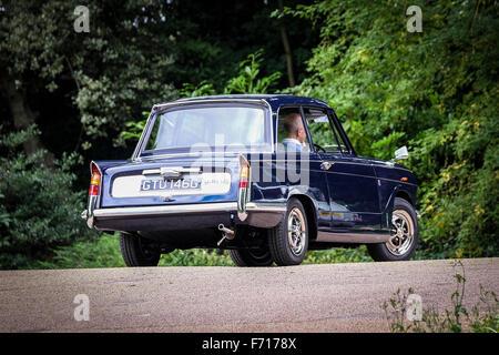 Classic Triumph Vitesse british motor car - Stock Photo