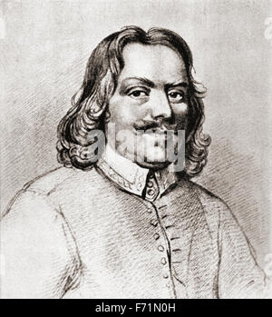 John Bunyan,  1628 – 1688.  English writer and Baptist preacher. - Stock Photo