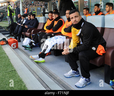Udine, Italy. 22nd November, 2015. Udinese's forward Antonio Di Natale during the Italian Serie A TIM football match - Stock Photo