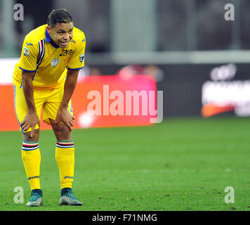 Udine, Italy. 22nd November, 2015. SampdoriasÕs forward Luis Muriel during the Italian Serie A TIM football match - Stock Photo