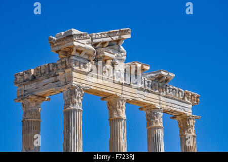 Apollo Temple in Side - Stock Photo