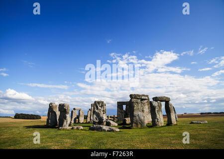 Historical monument Stonehenge in England, UK - Stock Photo