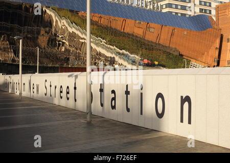 Birmingham New Street Station - Stock Photo
