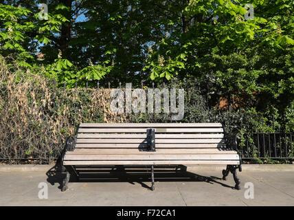 Street furniture in Brompton Road,Kensington,London - Stock Photo