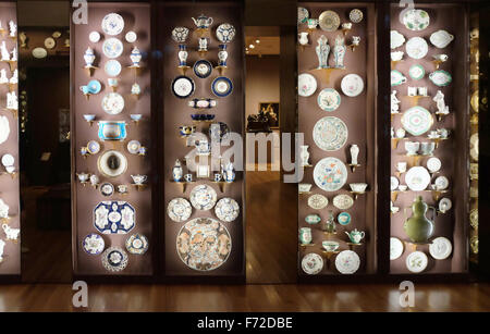 The Porcelain Room, The Seattle Art Museum, Seattle, Washington, USA - Stock Photo