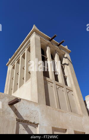 Wind Tower On A House In The Bur Dubai District Of Dubai