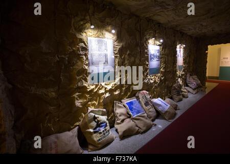 inside Academia Historica Taipei history museum - Stock Photo