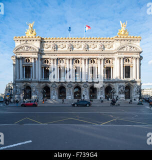 France, Paris, Palais garnier opera house - Stock Photo