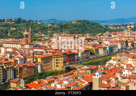 Oltrarno and Santo Spirito in Florence, Italy